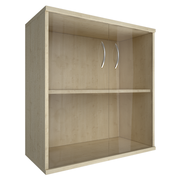 Шкаф низкий широкий 770x365x823