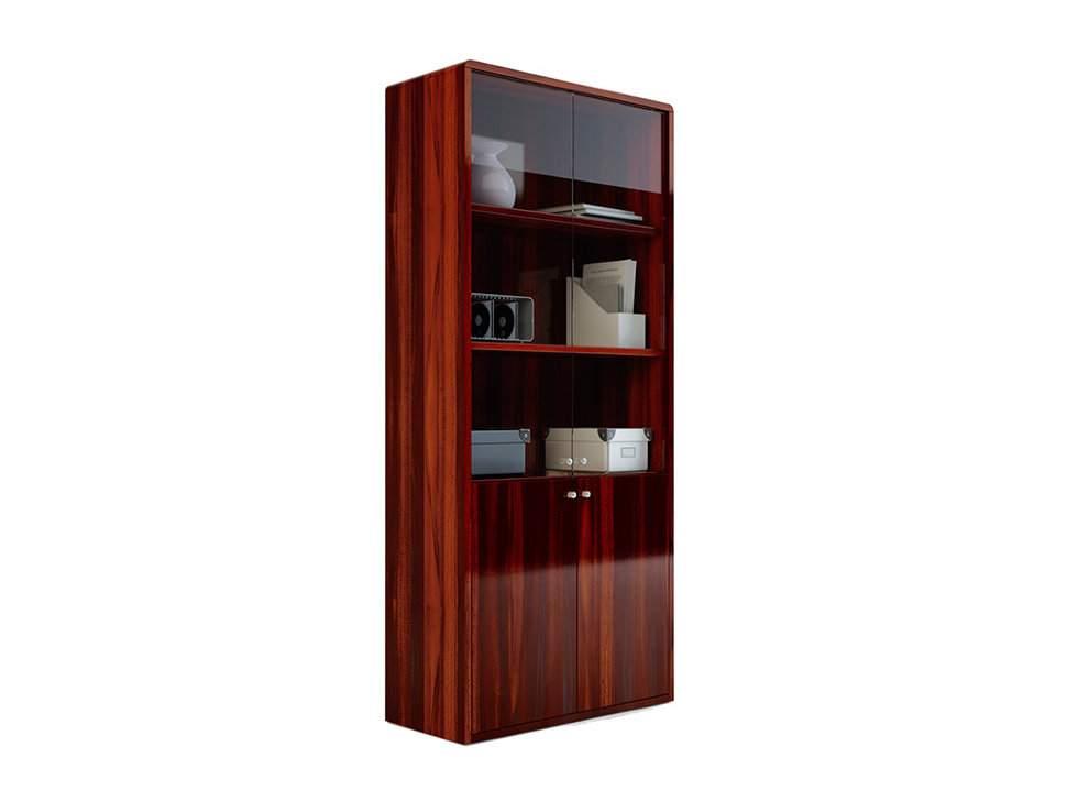 Шкаф со стеклянными дверцами 900x400x2000