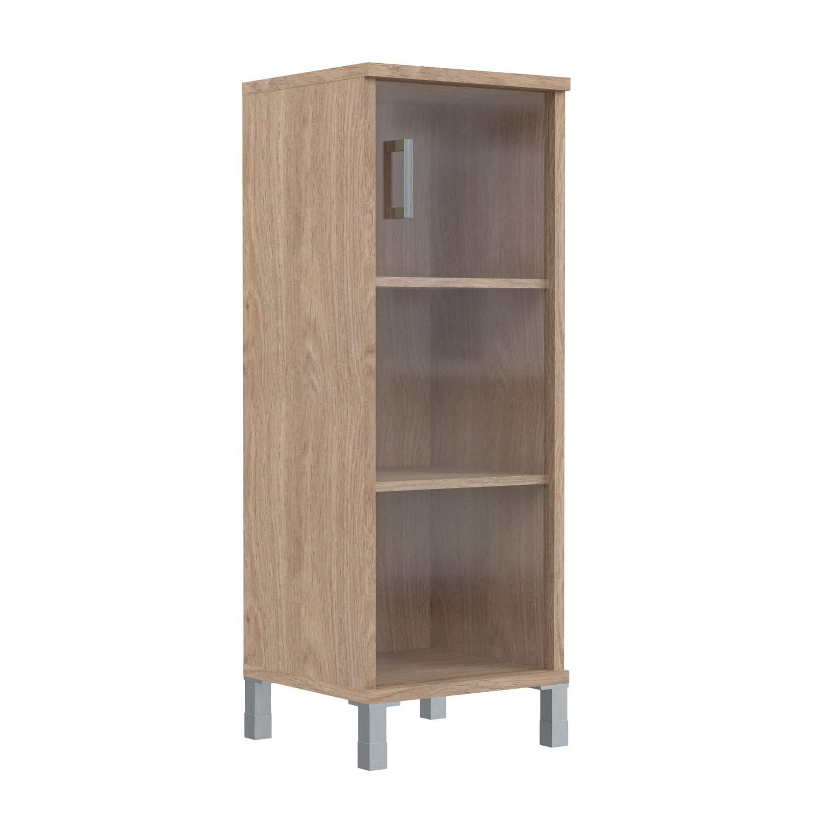 Шкаф колонка средняя со стеклянной дверью 475х435х1236
