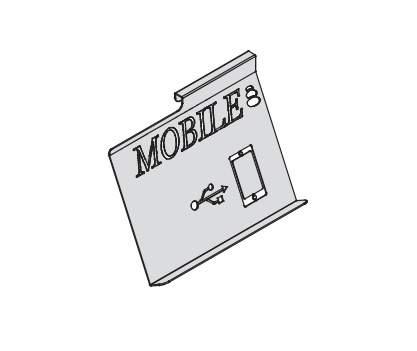 Навесной держатель для смартфона