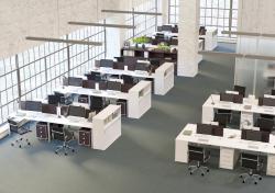 Мебель для сотрудников METAL SYSTEM