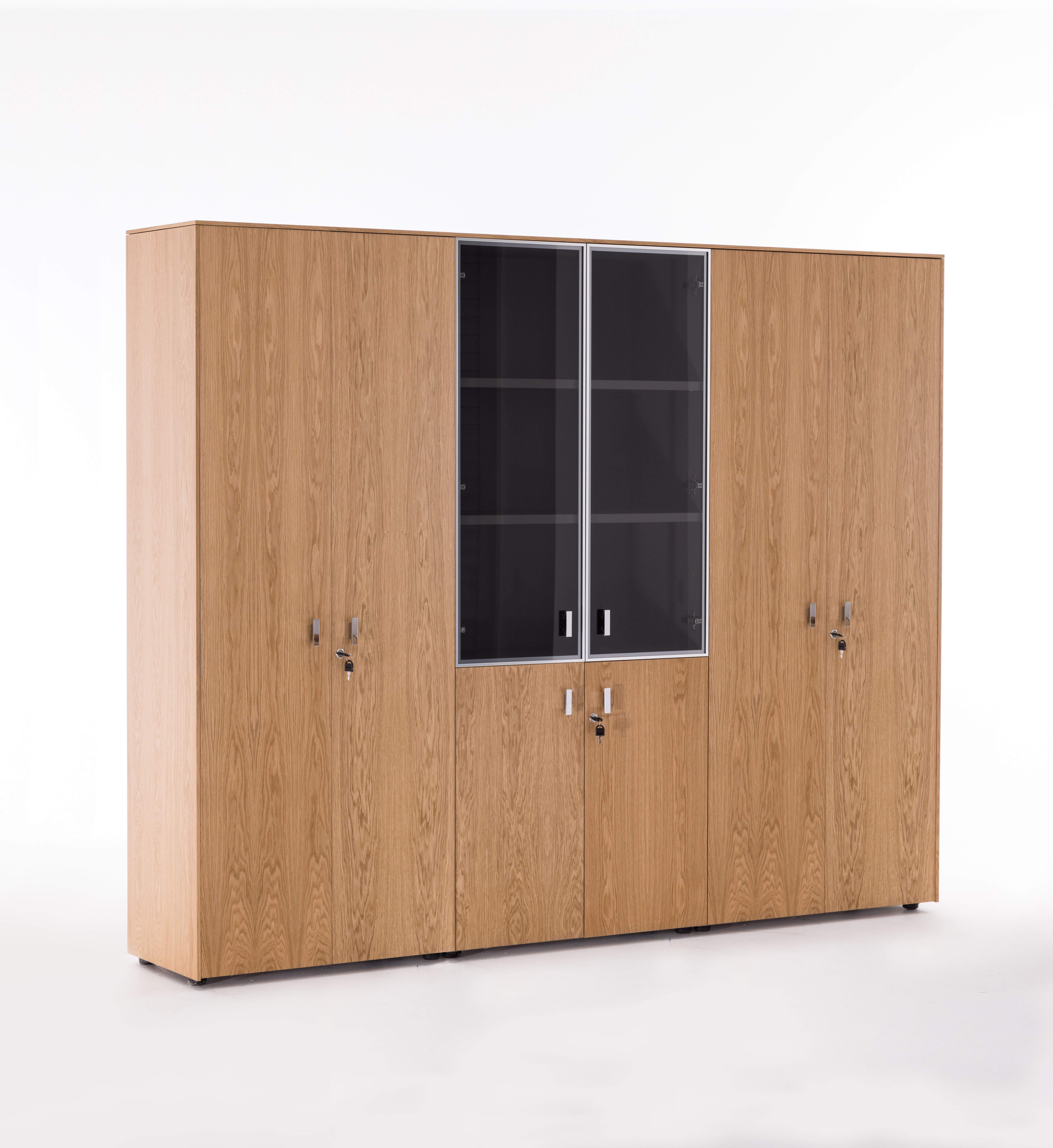 Шкаф комбинированный+гардероб+для бумаг 2420x440x1970