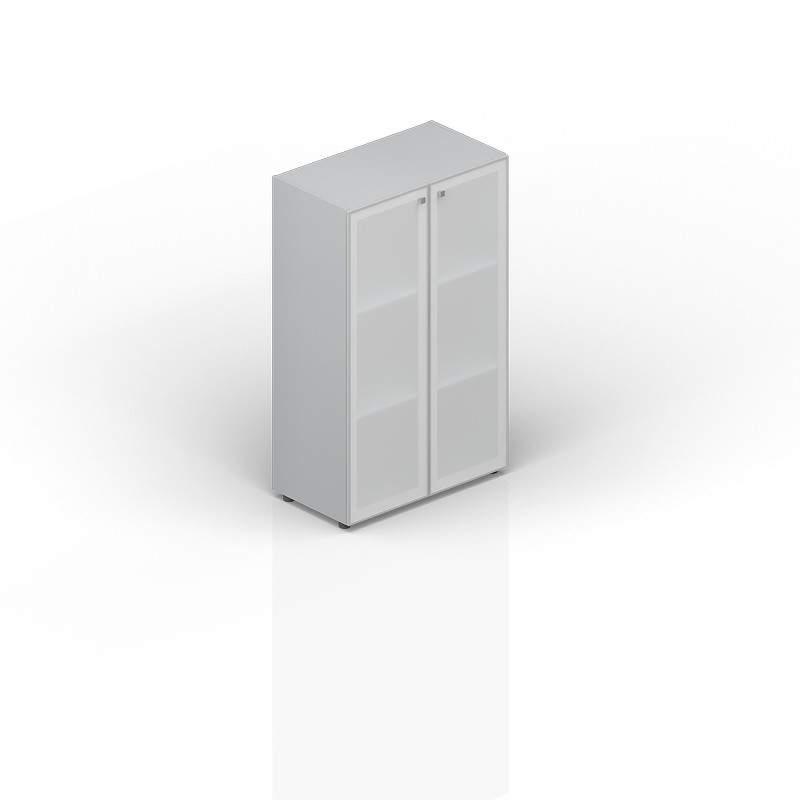 Шкаф средний матовое стекло в раме 800х440х1180