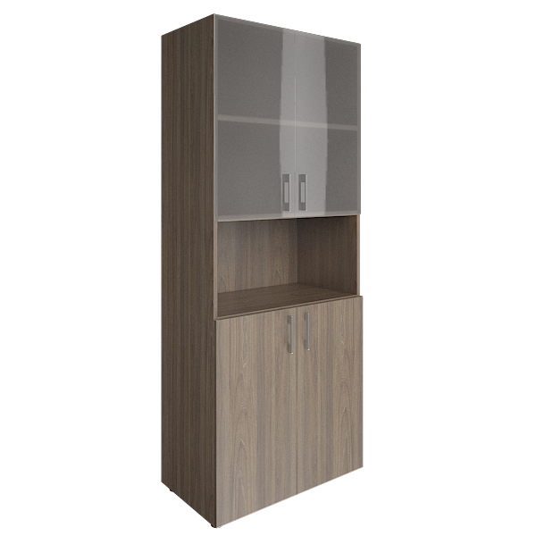 Шкаф высокий комбинированный  800x450x1990