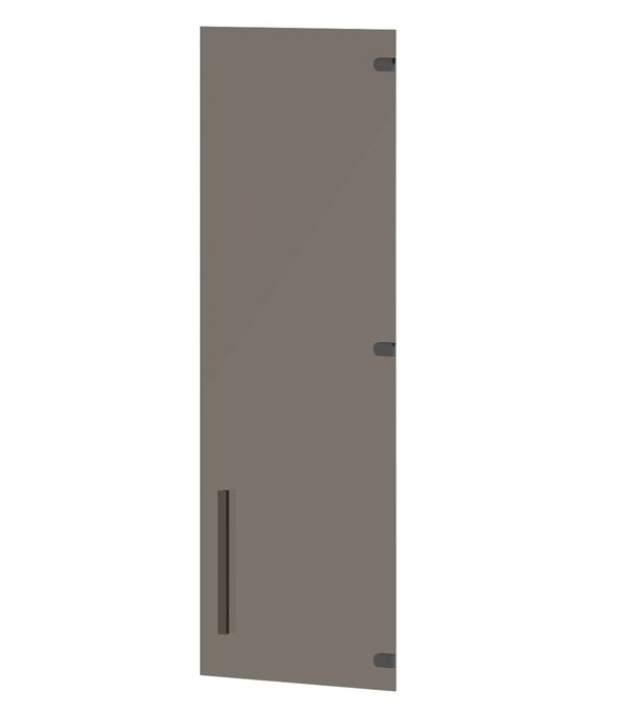Дверь стеклянная средняя правая 406x4x1180