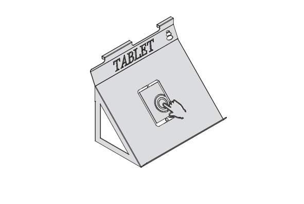 Навесной держатель для планшета