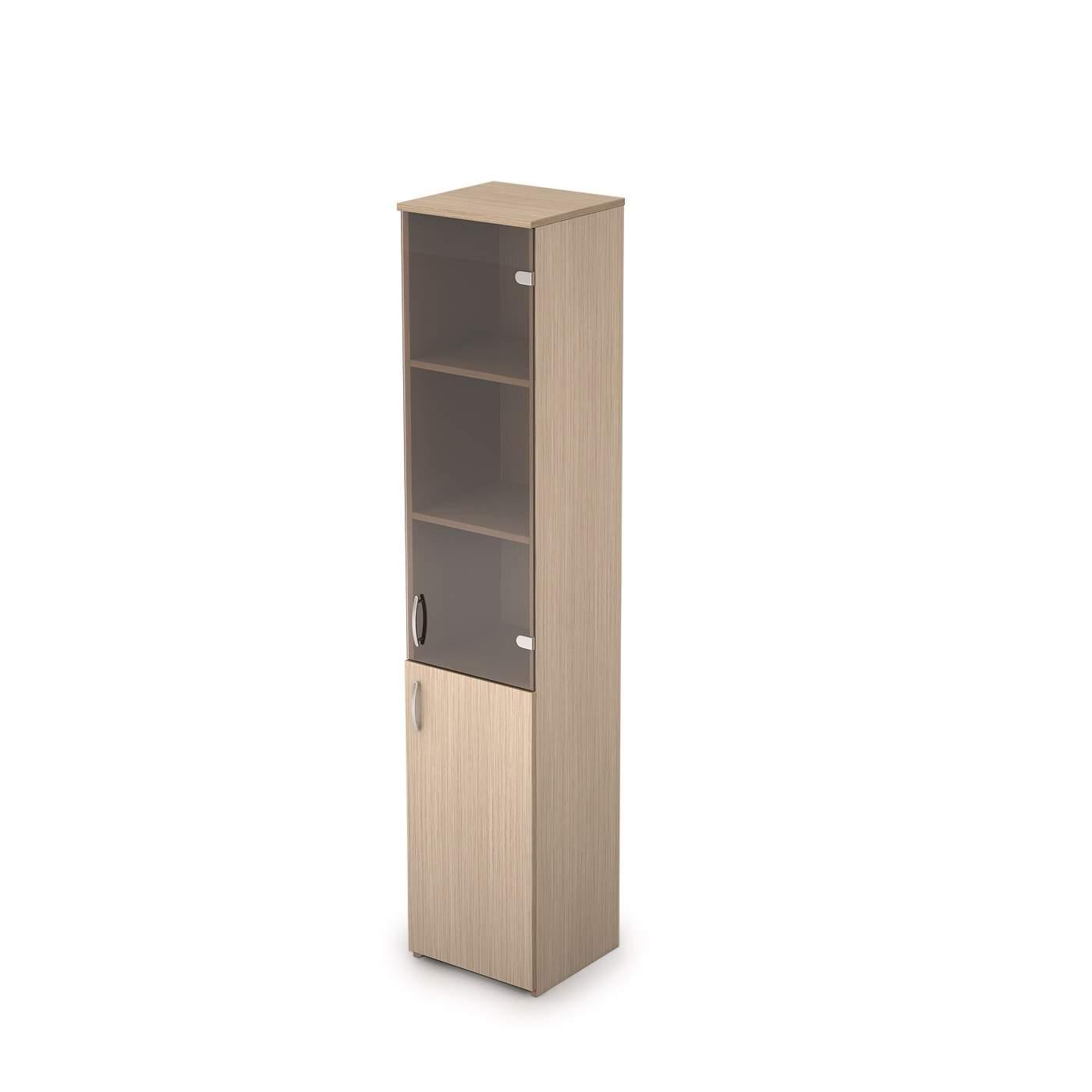Шкаф узкий комбинированный 365х370х1804