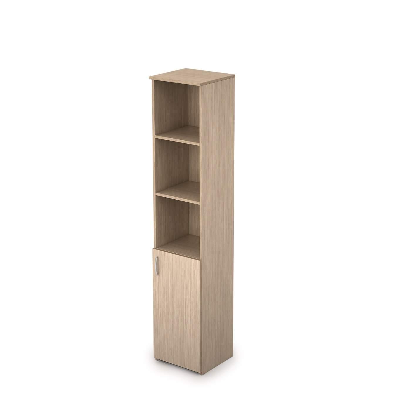 Шкаф узкий полузакрытый 365х370х1804