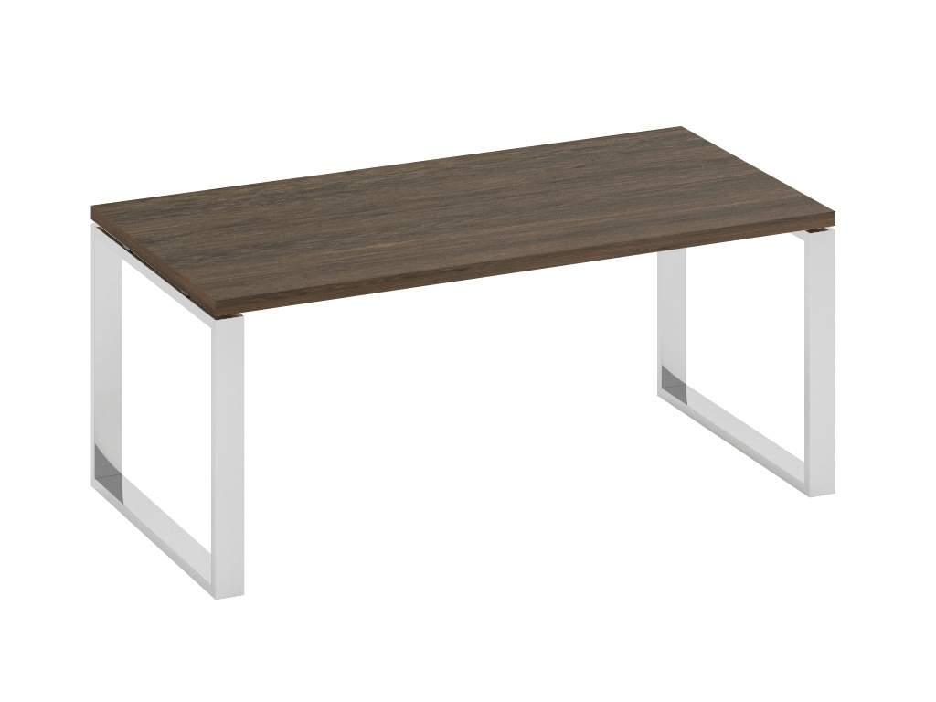 Стол с опорами цвета хром 1800x900x770