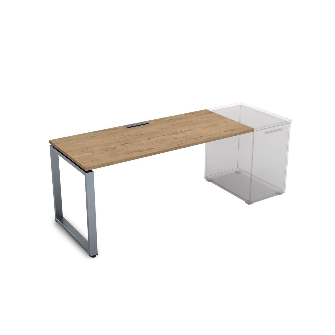 Стол приставной, прямолинейный 1200х700х750