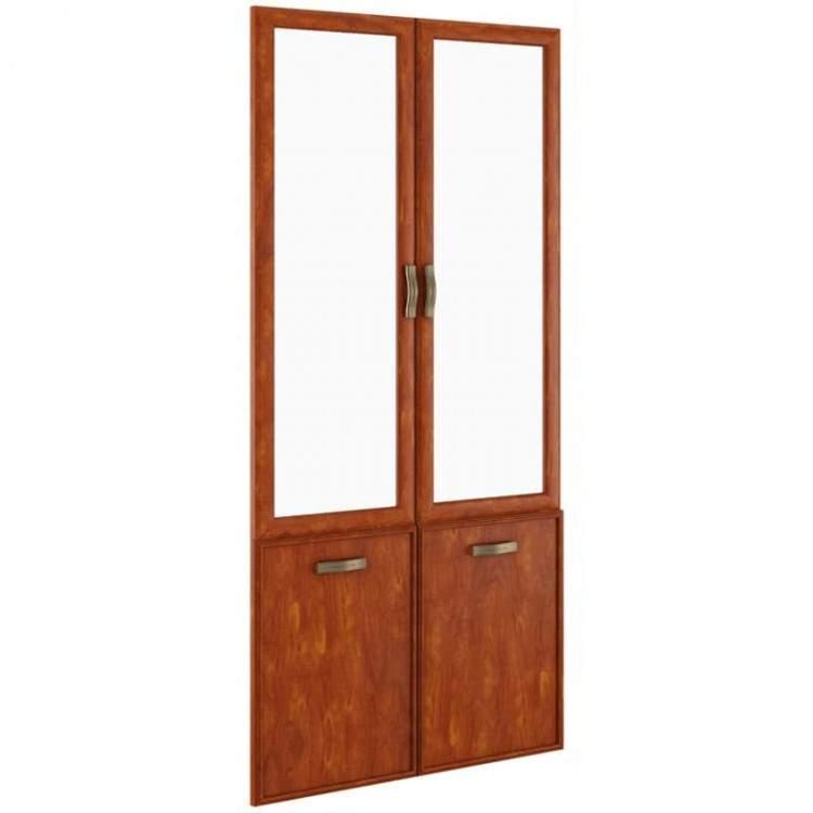 Комплект дверей стекло/ДСП 900x26x1986
