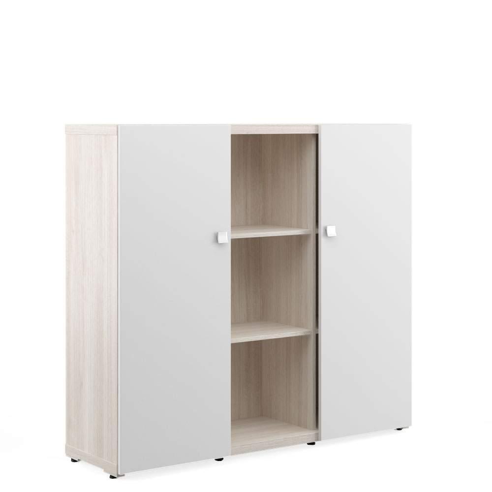 Шкаф средний с распашными дверьми 1400x420x1280