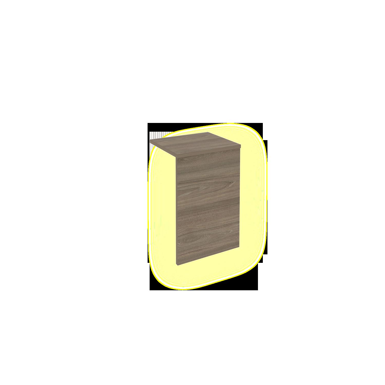 Ресепшн Накладка с подсветкой для Л.МП-1 360x321x536