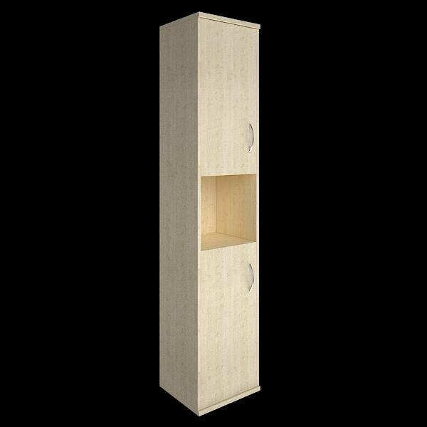 Шкаф высокий узкий левый полуоткрытый 412х410х1980