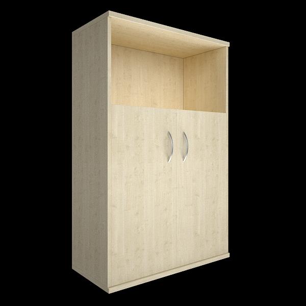 Шкаф средний полуоткрытый 770x365x1200