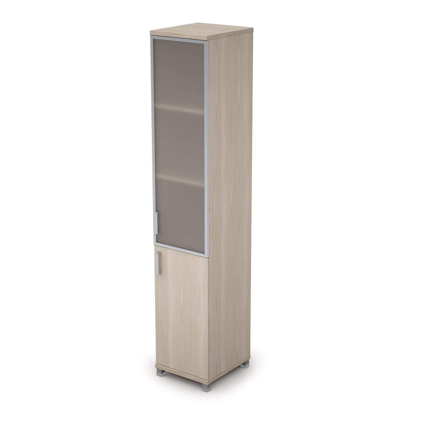 Шкаф узкий комбинированный 400x450x2116