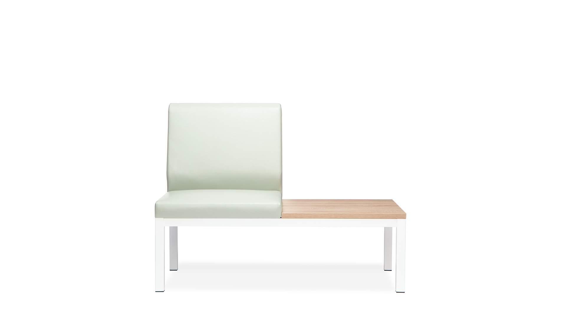Кресло одноместное без п\л со столиком  Норман 1200x660x890