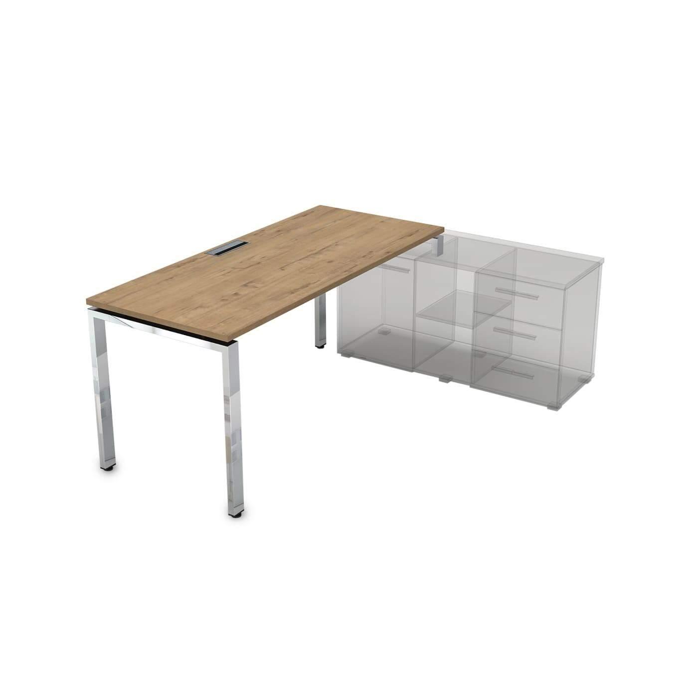 Стол рабочий, прямолинейный, правый 1800x700x750