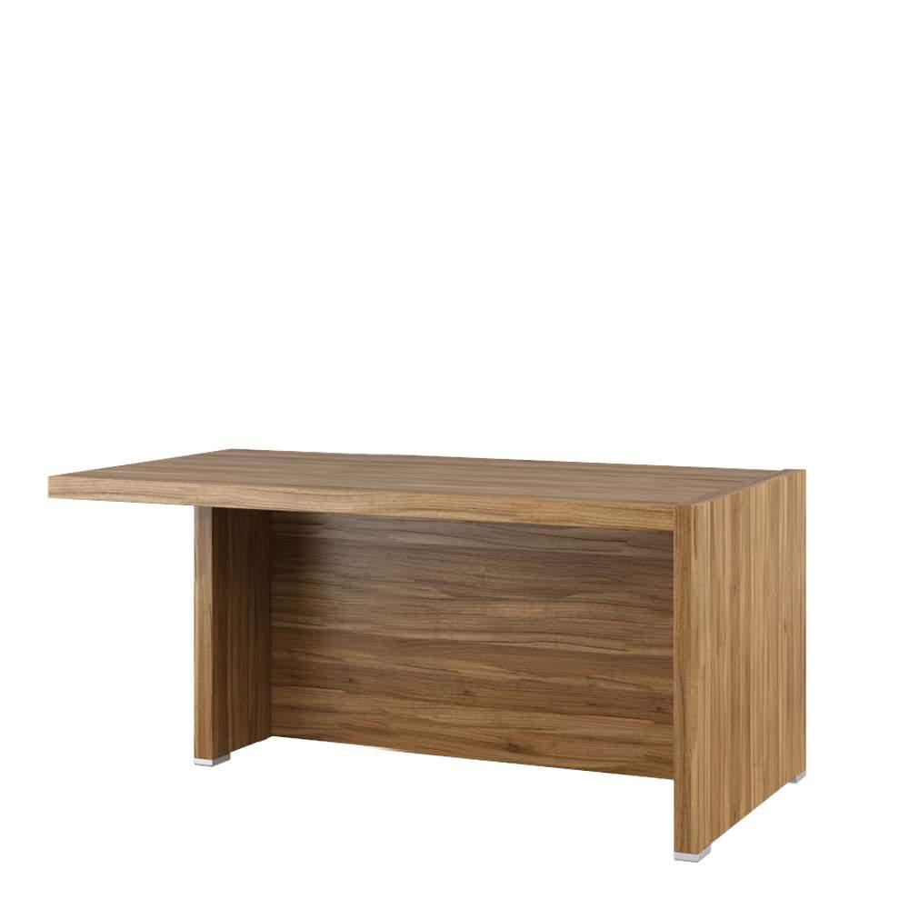 Стол письменный с асимметричными опорами, левый 1600x880x750