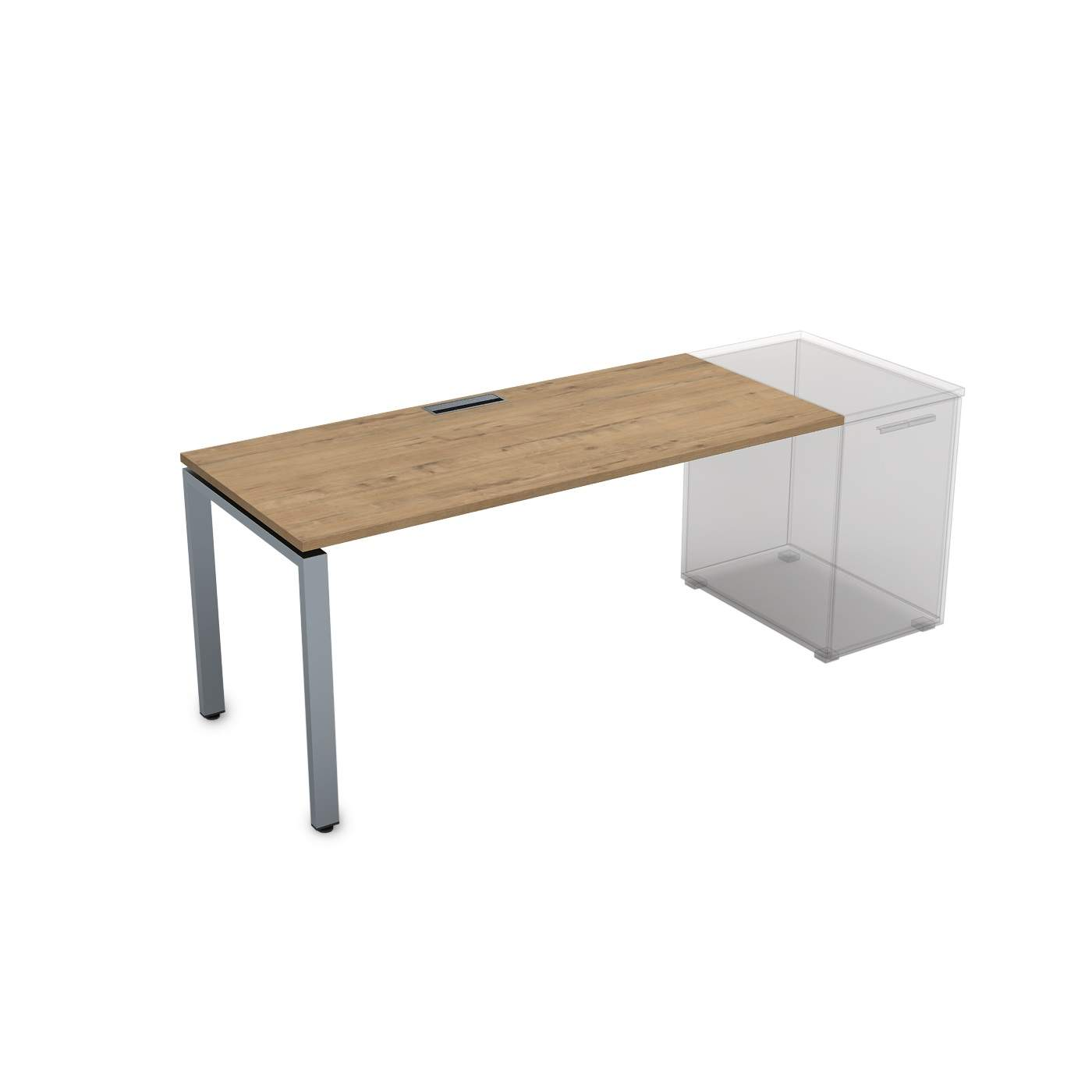Стол приставной, прямолинейный 1600х700х750