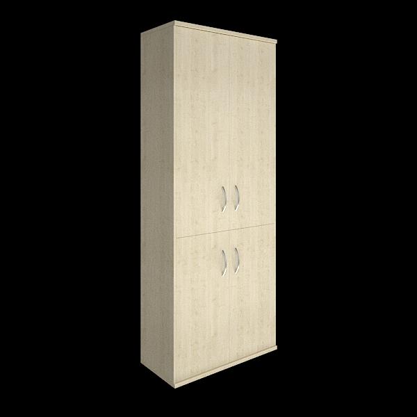 Шкаф высокий закрытый 770x365x1975