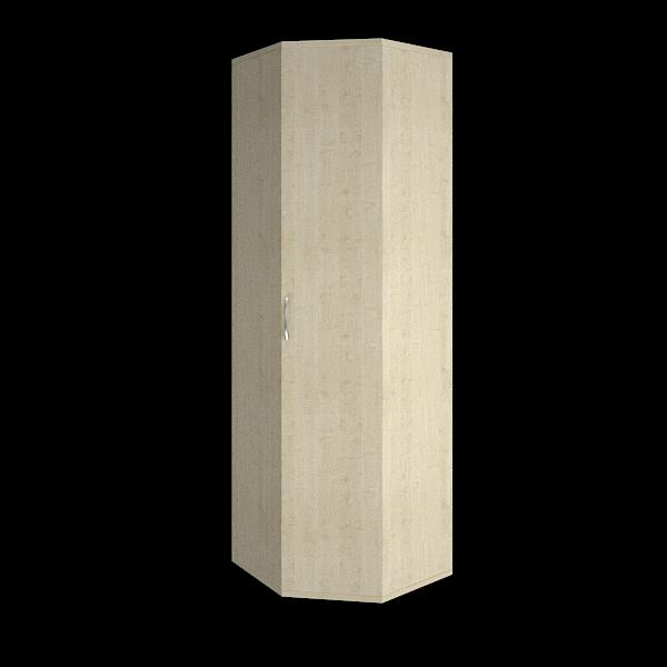 Гардероб угловой (выдвижная вешалка) 600х600х1970