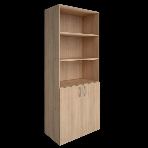 Шкаф высокий полуоткрытый  800x450x1990