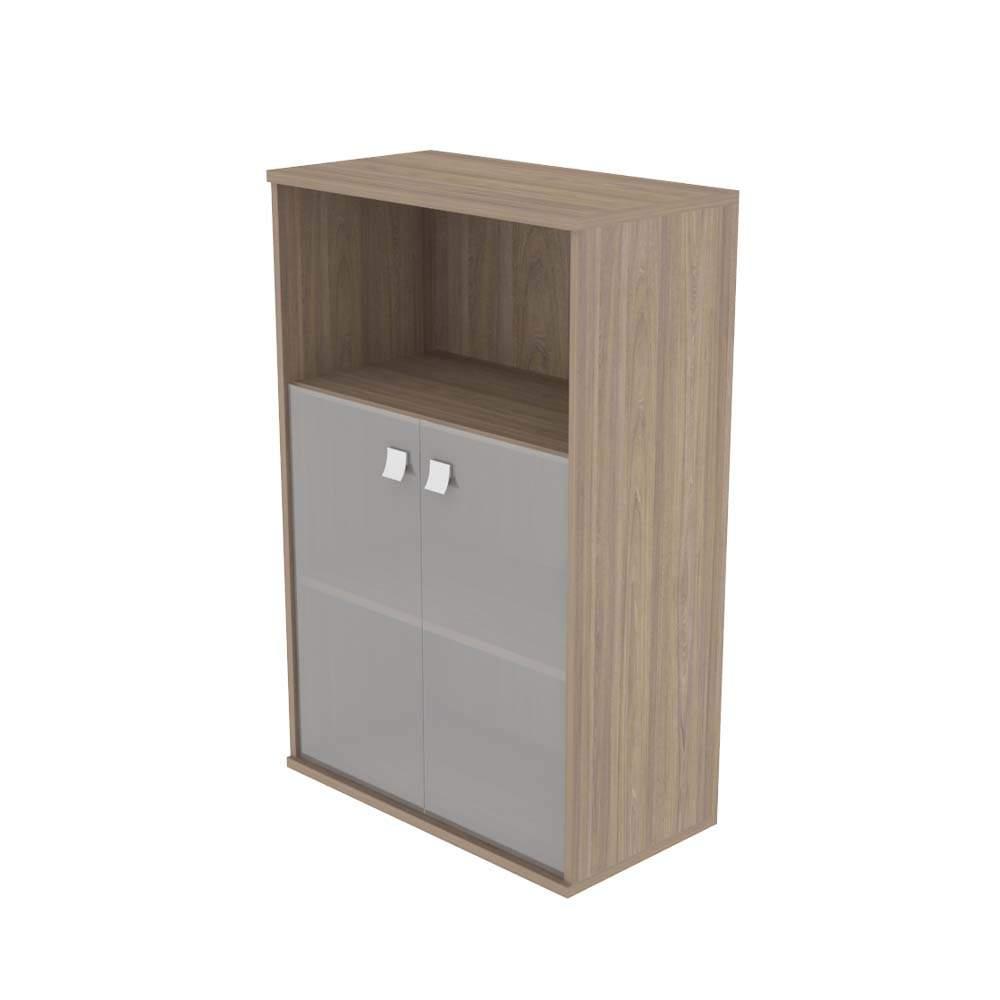Шкаф средний комбинированный со стеклом  778х410х1200