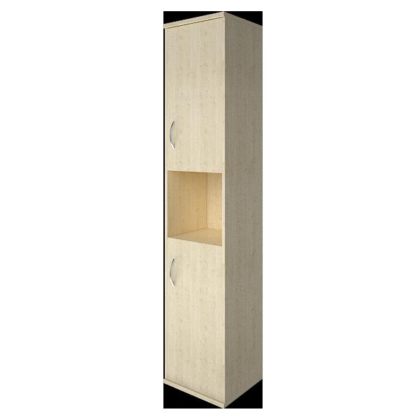 Шкаф высокий узкий правыйй полуоткрытый 403x365x1975