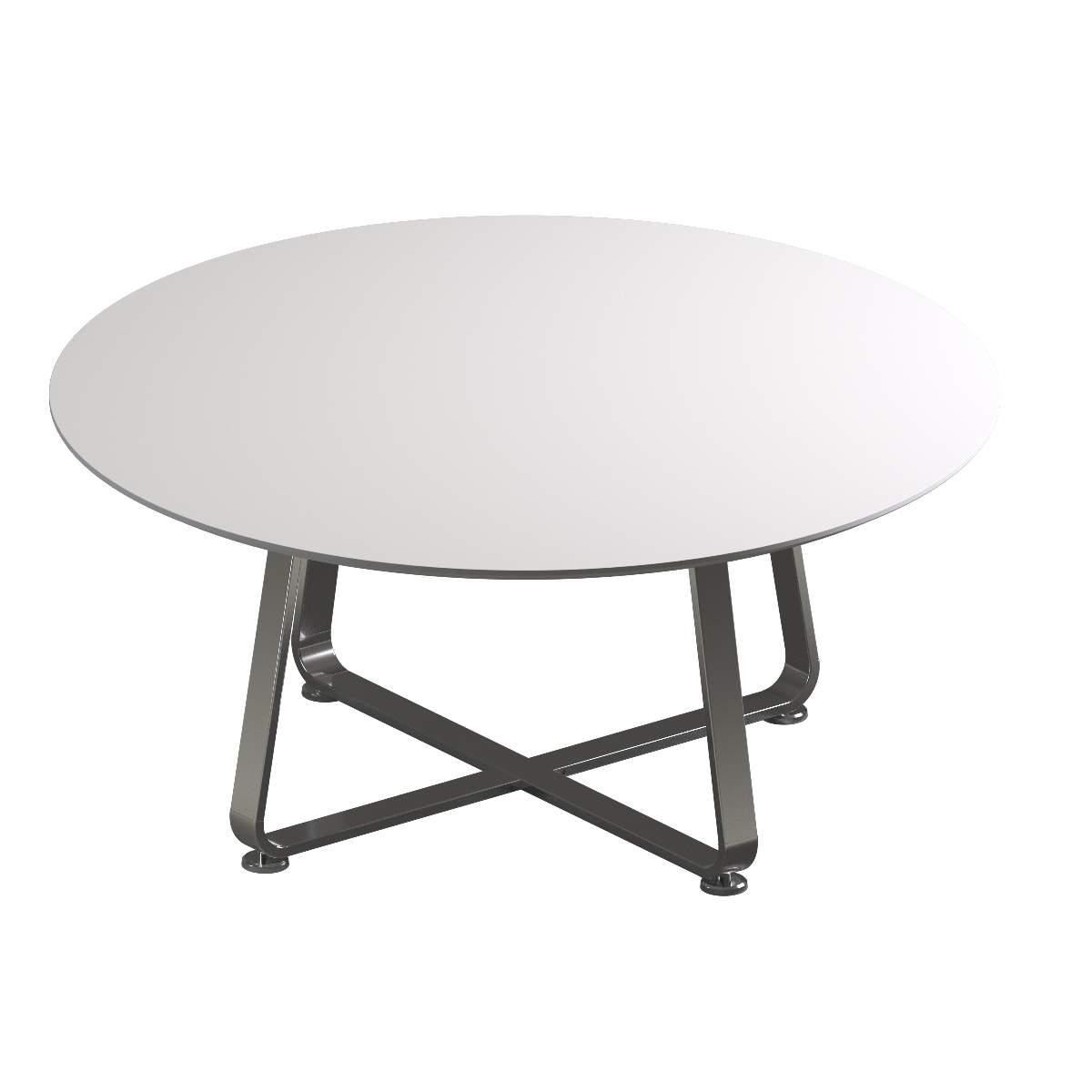 Круглый переговорный стол 1600x720