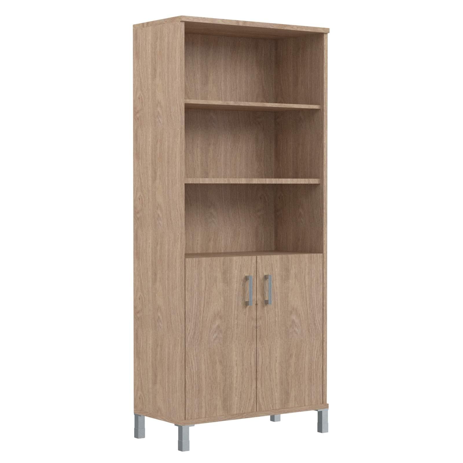 Шкаф высокий с глухими малыми дверьми 900х435х2004
