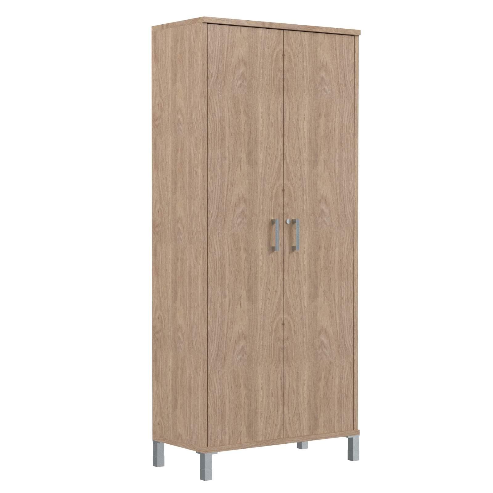 Шкаф высокий с замком в глухих дверях 900х435х2004
