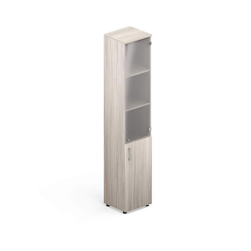 Шкаф узкий комбинированный  400х380х1890