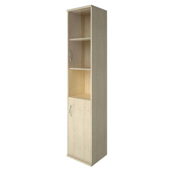 Шкаф высокий узкий правый полуоткрытый 403x365x1975