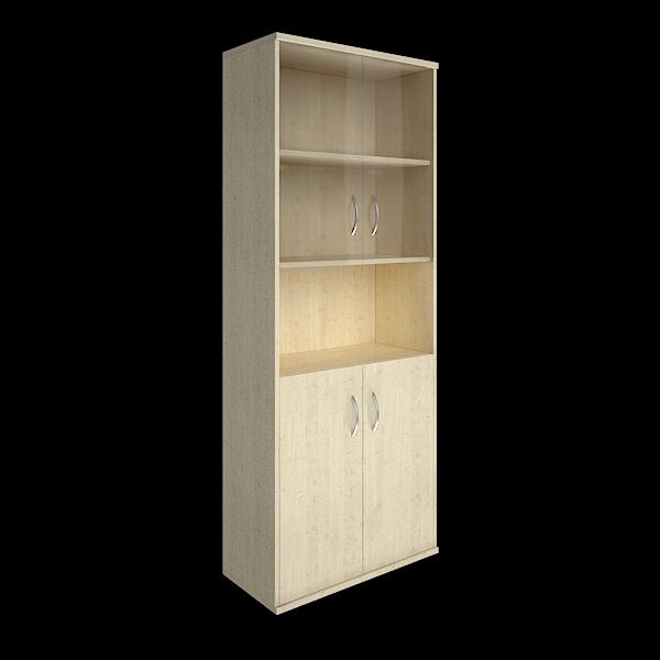 Шкаф высокий полуоткрытый  770x365x1975
