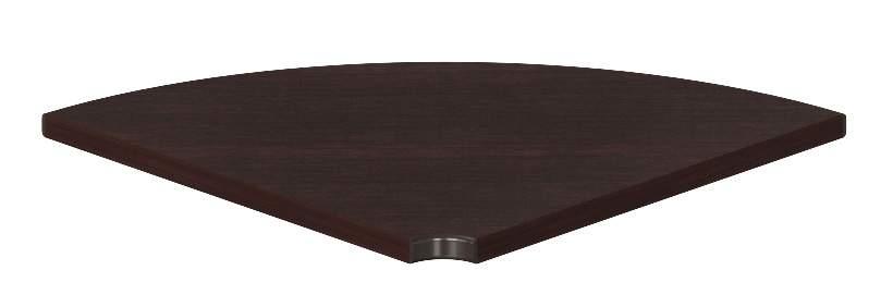 LEGNO Сектор 90* стола переговоров 1080x1080x40