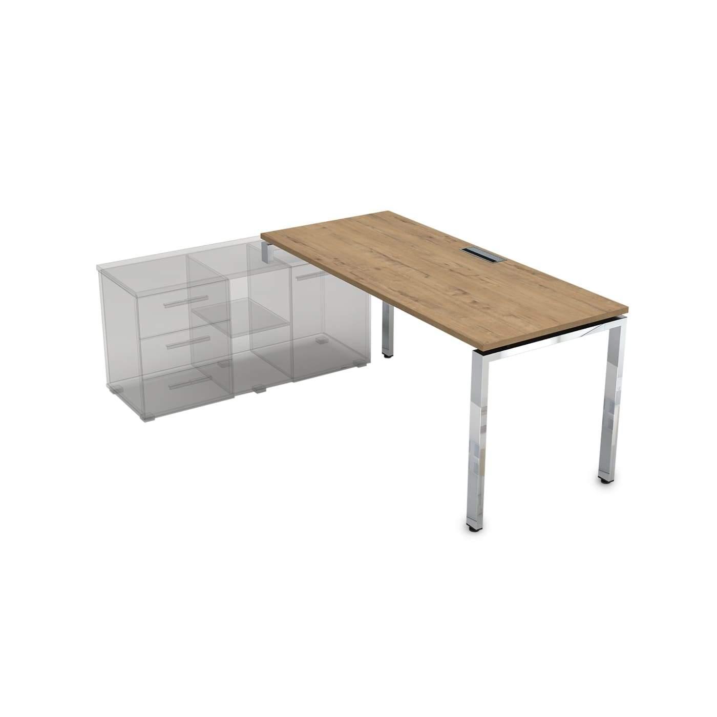 Стол рабочий, прямолинейный, левый 1800x900x750