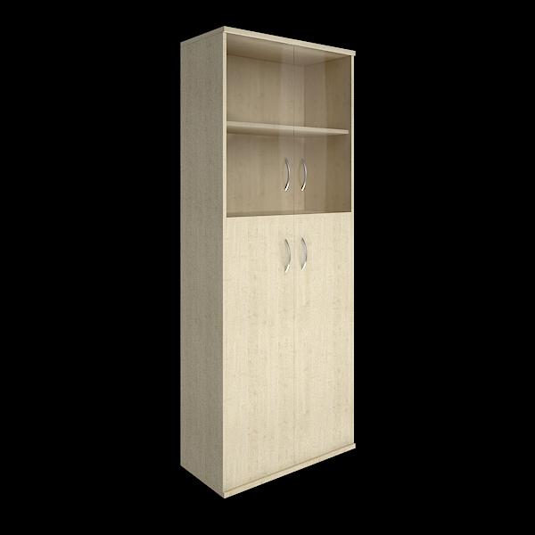 Шкаф высокий комбинированный 770x365x1975