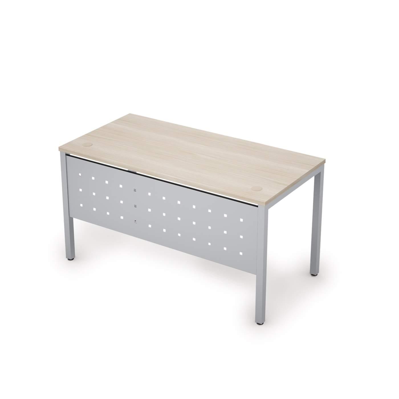 Стол с экраном из металла 1600х700х750