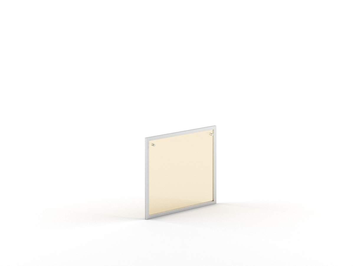 Слайд-дверь стеклянная в раме для сервисной тумбы 578x22x542