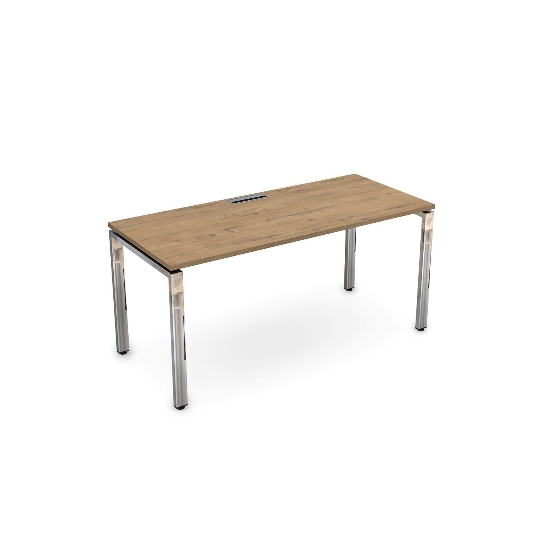 Стол рабочий, прямолинейный 1600x900x750