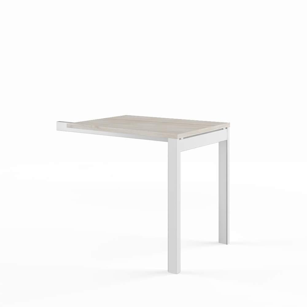 Приставной стол на металлоопорах 600x800x750