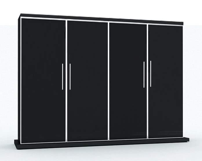 GALA Шкаф д.бумаг с гардеробом 1890x450x1700