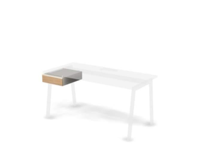Крышка подвесная для прямых столов 404x496x141