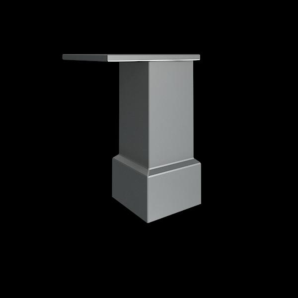 Опора для шкафов (металл) 40x40x100