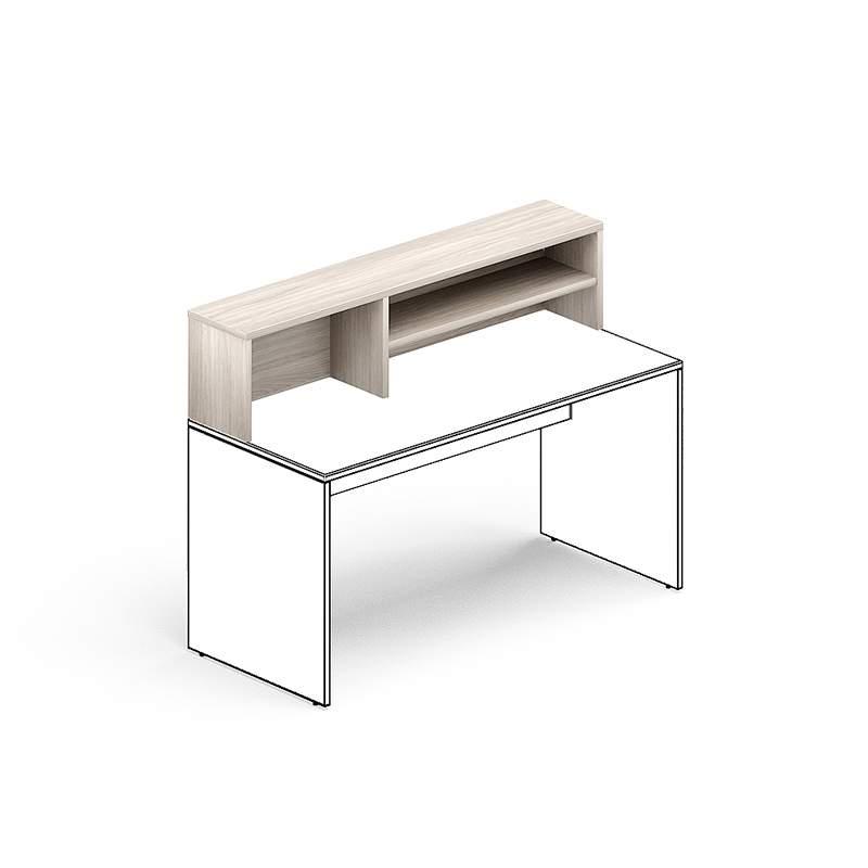 Надстройка для стола правая 1600х300х350