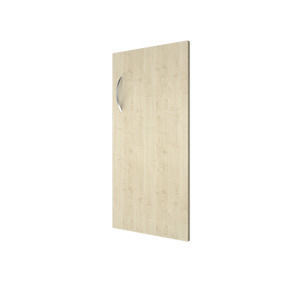 Дверь низкая ЛДСП правая (для А.СТ-1, А.СУ-1, А.СТ-2, А.СТ-3, А.СУ-2, А.СУ-3)  367х770
