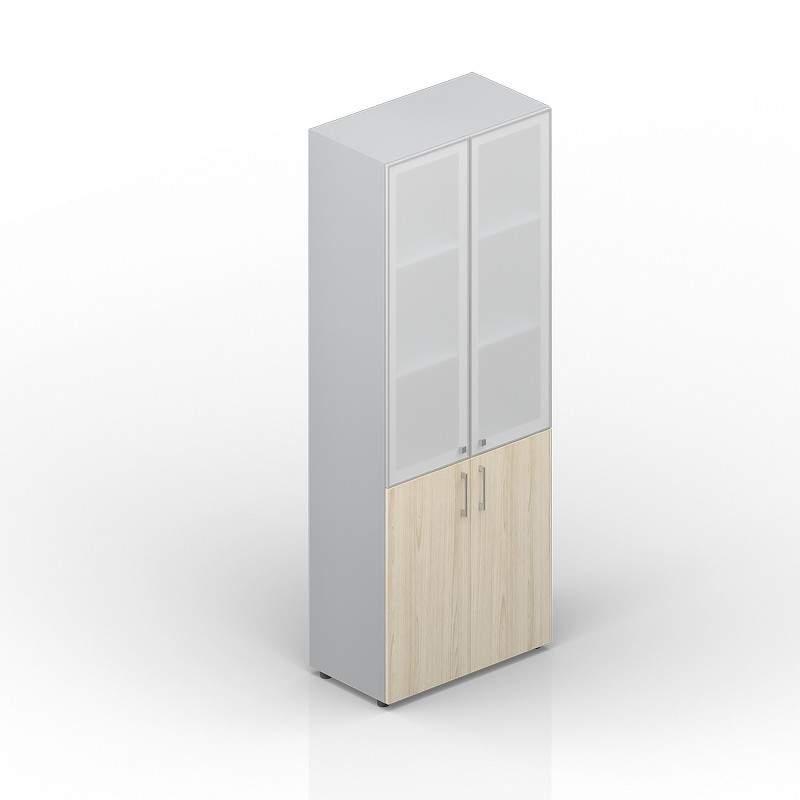 Шкаф высокий матовое стекло в раме 800х440х1950