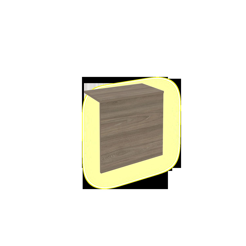 Ресепшн накладка с подсветкой для Л.МП-2 560x321x536