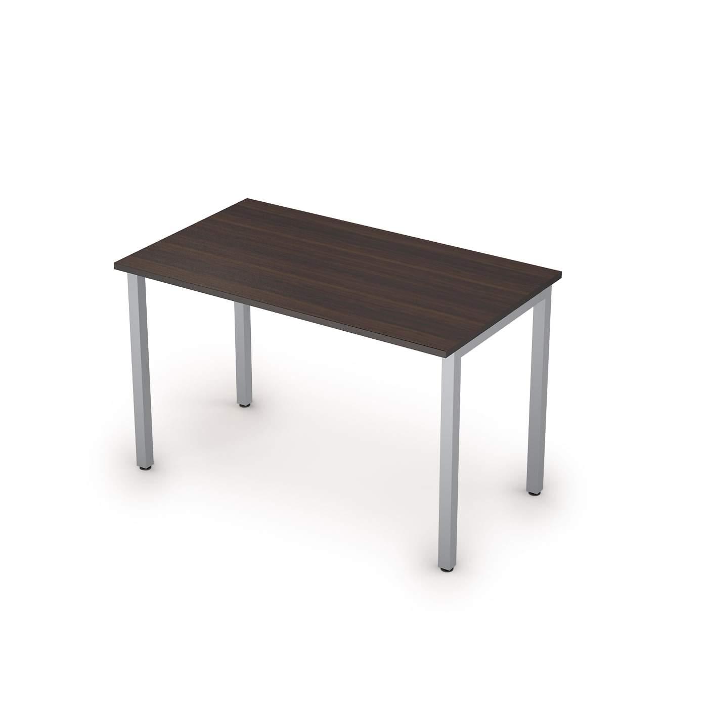 Столы на металлических опорах без экрана  1200х700х750